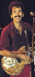 Carlos Santana's Yamaha SG Years