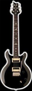 PRS SE Santana, Black guitar
